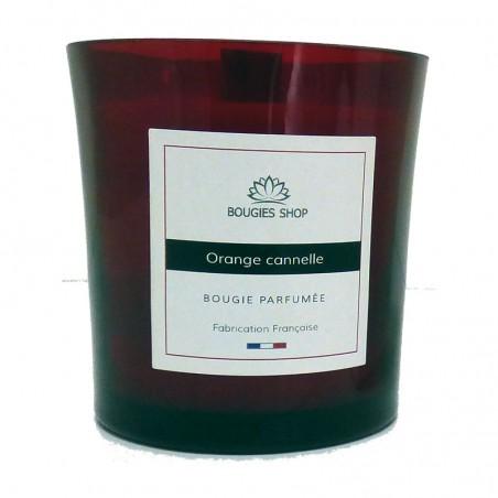 Série Limitée Rouge - Bougie Parfumée crépitante Orange cannelle180g