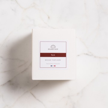 Bougie Parfumée Teck